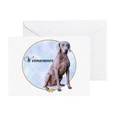 Weimaraner Portrait Greeting Cards (Pk of 10)