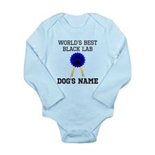 Worlds Best Black Lab (Custom) Body Suit