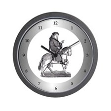 Geoffrey Chaucer Wall Clock