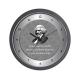 Frederick Douglass Wall Clock