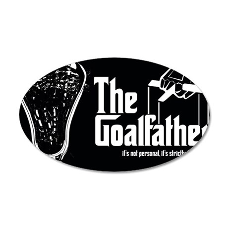 Lacrosse Goalfather Wall Decal