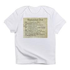 September 23rd Infant T-Shirt