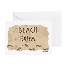 Beach Bum Greeting Cards (Pk of 10)