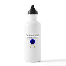 Worlds Best Dachshund Water Bottle