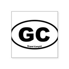 Grand Canyon Oval Sticker