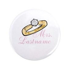 "Personalized Mrs. 3.5"" Button"