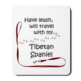 Tibbie Travel Leash Mousepad