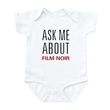 Ask Me About Film Noir Infant Bodysuit