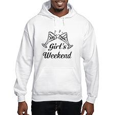 Girls Weekend Martini Glass Hoodie