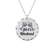 Girls Weekend Martini Glass Necklace