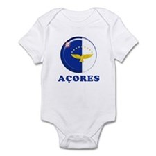 Azores islands flag Infant Bodysuit