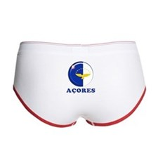 Azores islands flag Women's Boy Brief