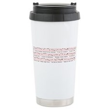 Unique Gregorian chant Travel Mug