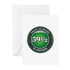 59 1/2 Seal Greeting Cards (Pk of 10)