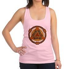 Celtic Pyramid Mandala Racerback Tank Top
