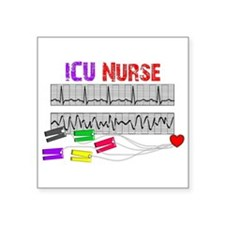 ICU Nurse Sticker