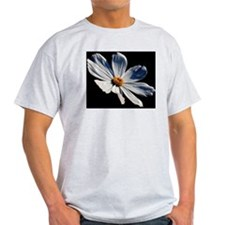 Daisy on Black T-Shirt