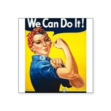 We Can Do It, Rosie the Riveter Sticker