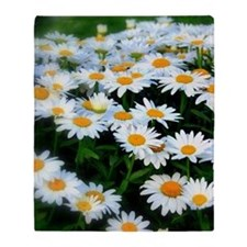 Field of Daisies Throw Blanket