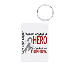 Brain Cancer Heaven Needed Keychains