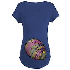 Easter Egg Dark Maternity T-Shirt