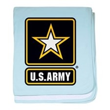 US Army Gold Star Logo baby blanket