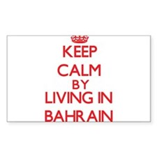 Keep Calm by living in Bahrain Decal