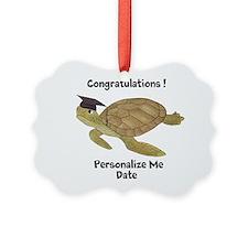 Personalized Sea Turtles Ornament