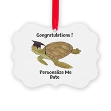 Personalized Sea Turtles Picture Ornament