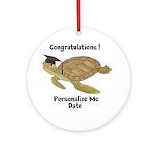 Personalized Sea Turtles Ornament (Round)