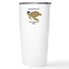 Personalized Sea Turtles Travel Mug
