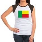 Benin Flag Women's Cap Sleeve T-Shirt
