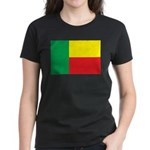 Benin Flag Women's Dark T-Shirt