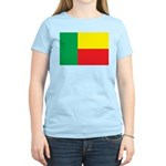 Benin Flag Women's Light T-Shirt