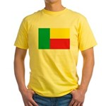 Benin Flag Yellow T-Shirt