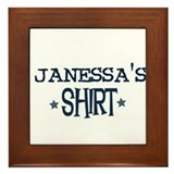 Janessa Framed Tile