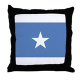 Flag Somalia Throw Pillow