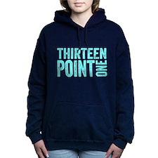Thirteen Point One. 13.1. Half-Marathon. Hooded Sw