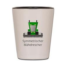 symmetric harvester Shot Glass