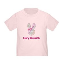 Easter Bunny with Pink Bow T