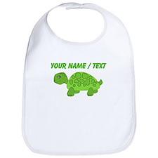 Custom Green Turtle Bib
