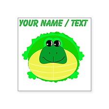 Custom Fat Turtle Sticker
