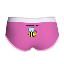 Custom Cartoon Bee Women's Boy Brief