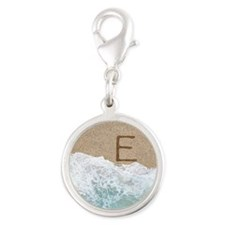 LETTERS IN SAND E Charms