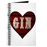 Jolly Gin Bottle Journal