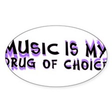 musicdrugbumper Decal