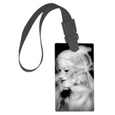 Human Statue Luggage Tag