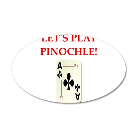 pinochle Wall Decal
