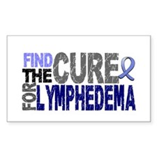Lymphedema Find The Cure Decal