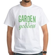 Garden Goddess Women's Pink T-Shirt